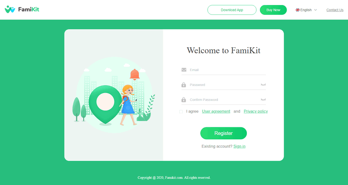 register famikit